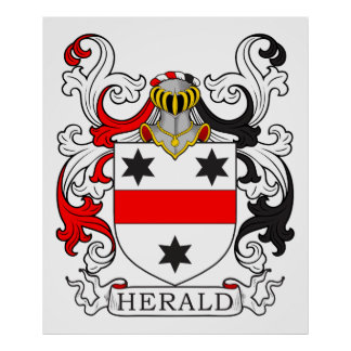 Herald Coat of Arms Posters