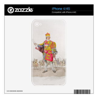Herald, from 'Costume of Great Britain', published Decals For iPhone 4S