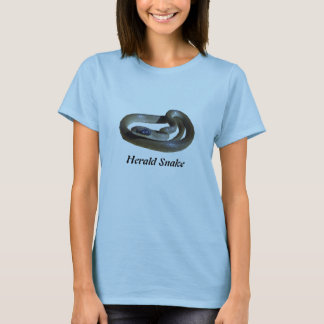 Herald Snake Ladies Baby Doll T-Shirt