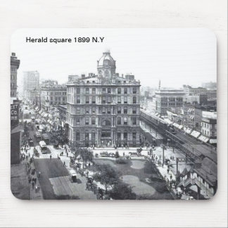 Herald square 1899 N.Y Mousepad