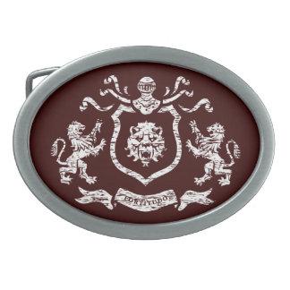 Heraldic Blazon Belt Buckle