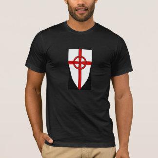 Heraldic Celtic Cross shield T shirt