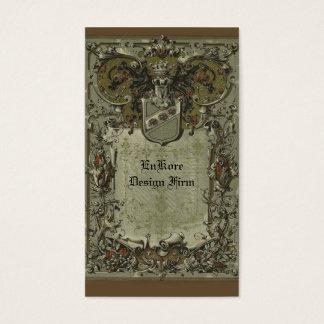 Heraldic Design Business Card