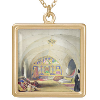 Heraldic Designs, from 'Art and Industry', publish Square Pendant Necklace