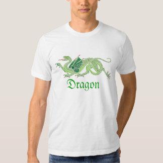 Heraldic Dragon (Green) - T-Shirt #3