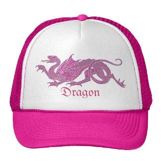 Heraldic Dragon (Pink) - Hat #1