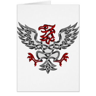 Heraldic Eagle Card