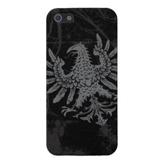 Heraldic Eagle Grunge Case For iPhone SE/5/5s