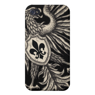 Heraldic Eagle Iphone 4 case