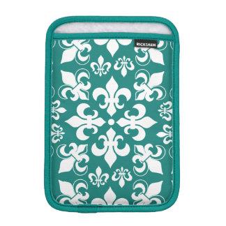 Heraldic French Fleur de Lis Pattern iPad Mini Sleeve