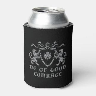 Heraldic Good Courage Can Cooler