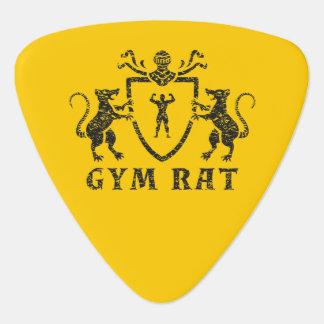 Heraldic Gym Rat Guitar Pick