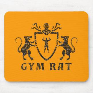 Heraldic Gym Rat Mousepad