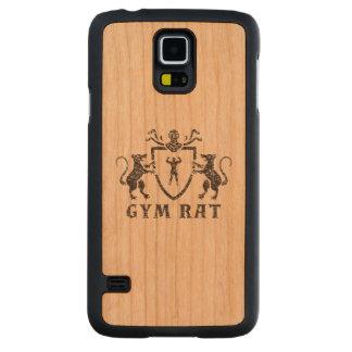Heraldic Gym Rat Samsung Galaxy S5 Case Carved® Cherry Galaxy S5 Slim Case