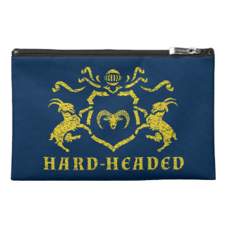 Heraldic Hard-Headed Travel Accessory Bag