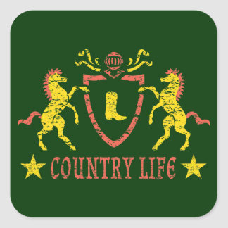 Heraldic Horses Sticker