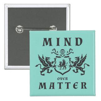 Heraldic Mind Griffin Pinback Button