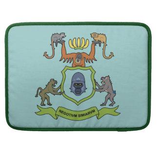 """Heraldic Monkey 15"""" MacBook sleeve MacBook Pro Sleeves"""