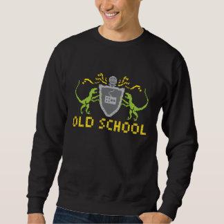 Heraldic Pixel Dinosaur Sweatshirt