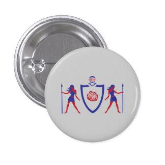 Heraldic Rose Button