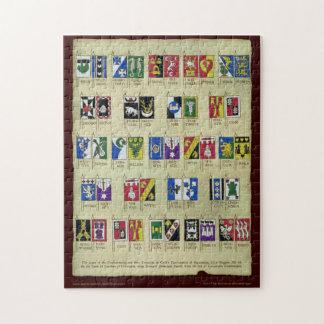 Heraldic Scroll Puzzles