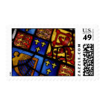 Heraldic Stained Glass Postage