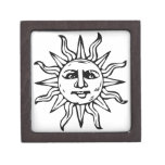 Heraldic Sun Premium Jewelry Box