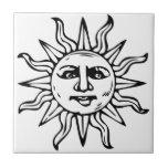Heraldic Sun Tiles
