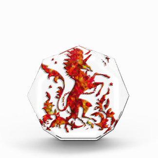 Heraldic Unicorn: Flames Award