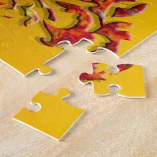 Heraldic Unicorn: Flames Puzzles