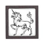 Heraldic Unicorn Premium Trinket Box