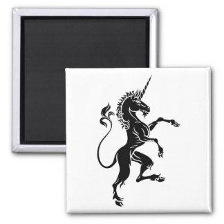 Heraldic Unicorn Rampant Crest Coat of Arms Magnet