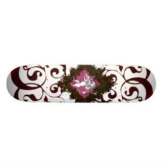 Heraldic Unicorn Skate Board Deck