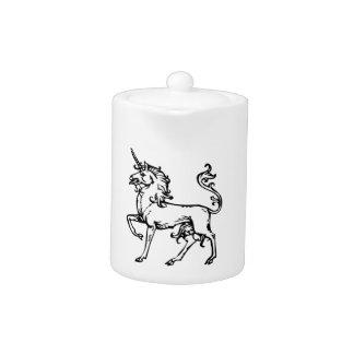 Heraldic Unicorn Teapot