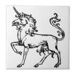 Heraldic Unicorn Tiles