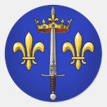 Heráldica de Juana de Arco Jeanne D'Arc Etiquetas