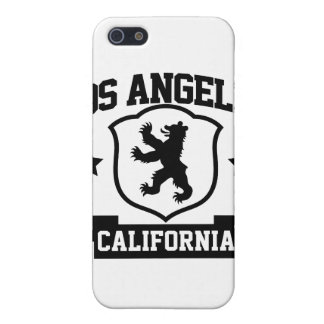 Heráldica de Los Ángeles iPhone 5 Carcasas