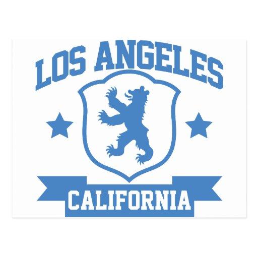 Heráldica de Los Ángeles Postales