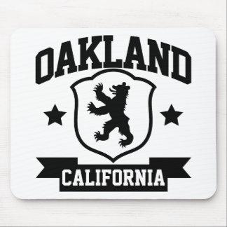 Heráldica de Oakland Alfombrillas De Raton