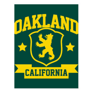Heráldica de Oakland Tarjetas Postales