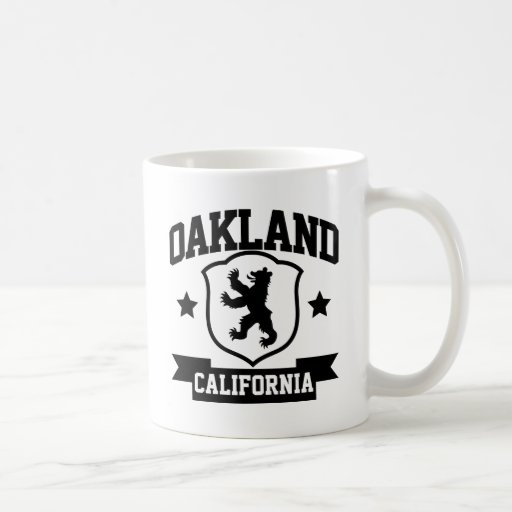 Heráldica de Oakland Taza De Café