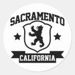 Heráldica de Sacramento Etiquetas Redondas