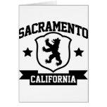 Heráldica de Sacramento Tarjeta