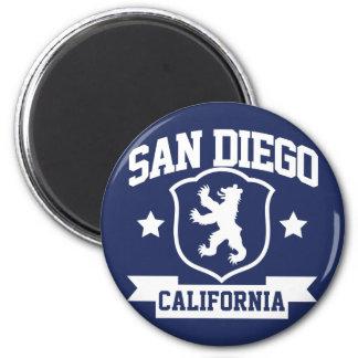 Heráldica de San Diego Imán Redondo 5 Cm