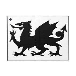 Heráldica del dragón iPad mini cobertura