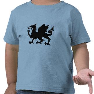 Heráldica del dragón camisetas