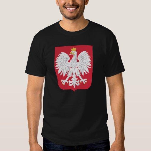 Heráldica oficial polaca Symbo del escudo de armas Camisas