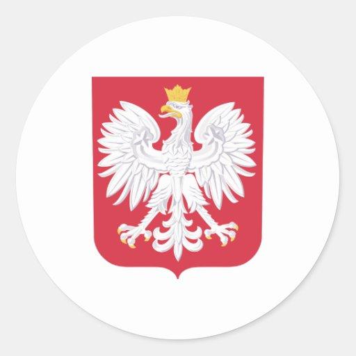 Heráldica oficial polaca Symbo del escudo de armas Etiquetas