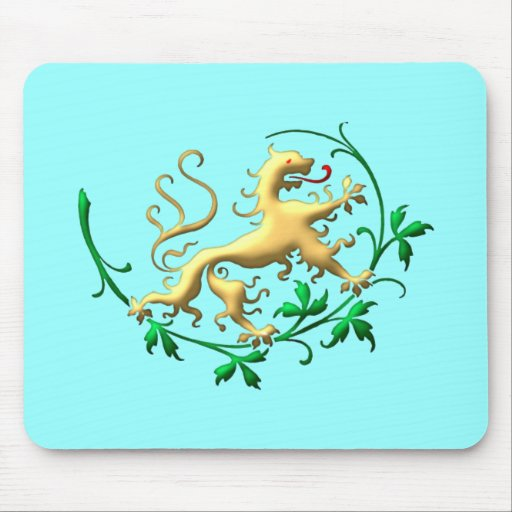 Heraldik Löwe heraldry lion Mauspads