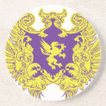 Heraldry Drink Coaster